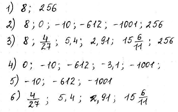 Математика 6 Самостоятельная № 28