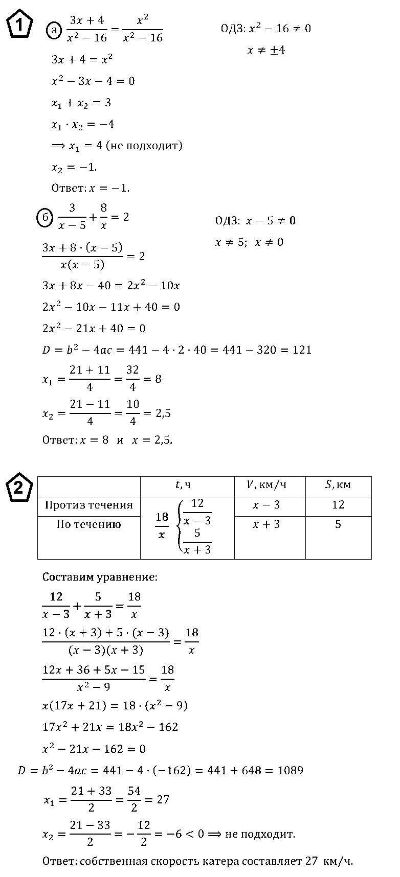 Алгебра 8 Макарычев К06 В2
