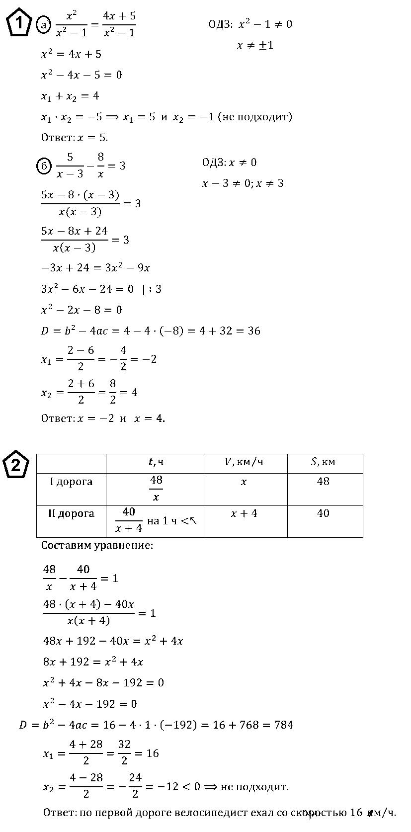 Алгебра 8 Макарычев К06 В3