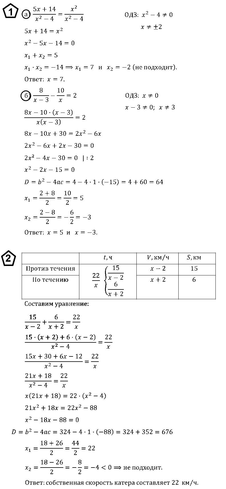 Алгебра 8 Макарычев К06 В4