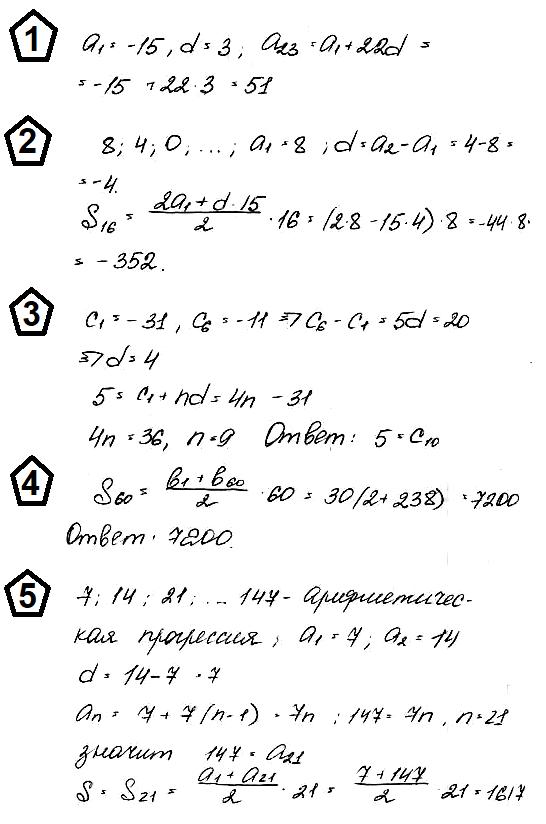 Алгебра 9 Макарычев К06 В3