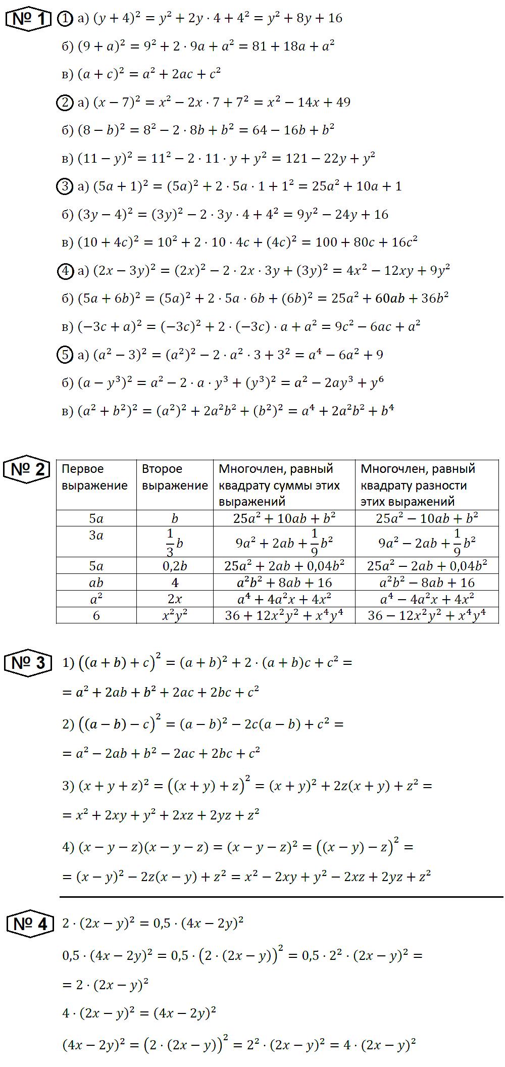 Алгебра 7 Макарычев С-37