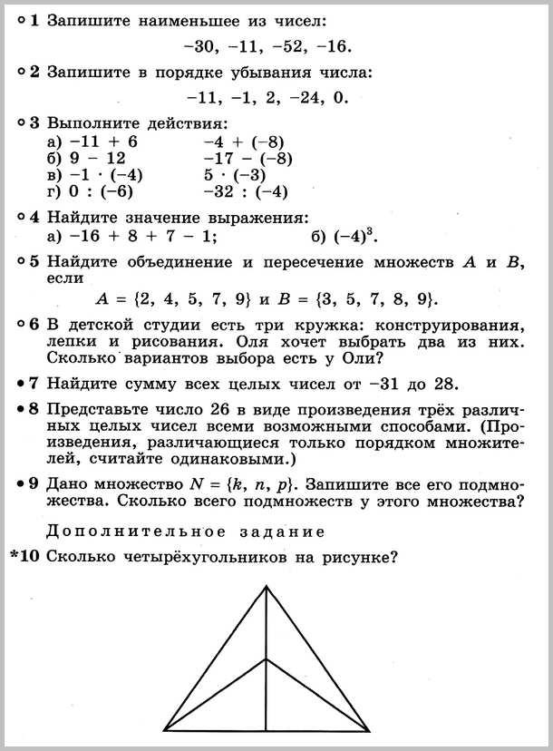 Математика 6 Дорофеев КР-6 В4