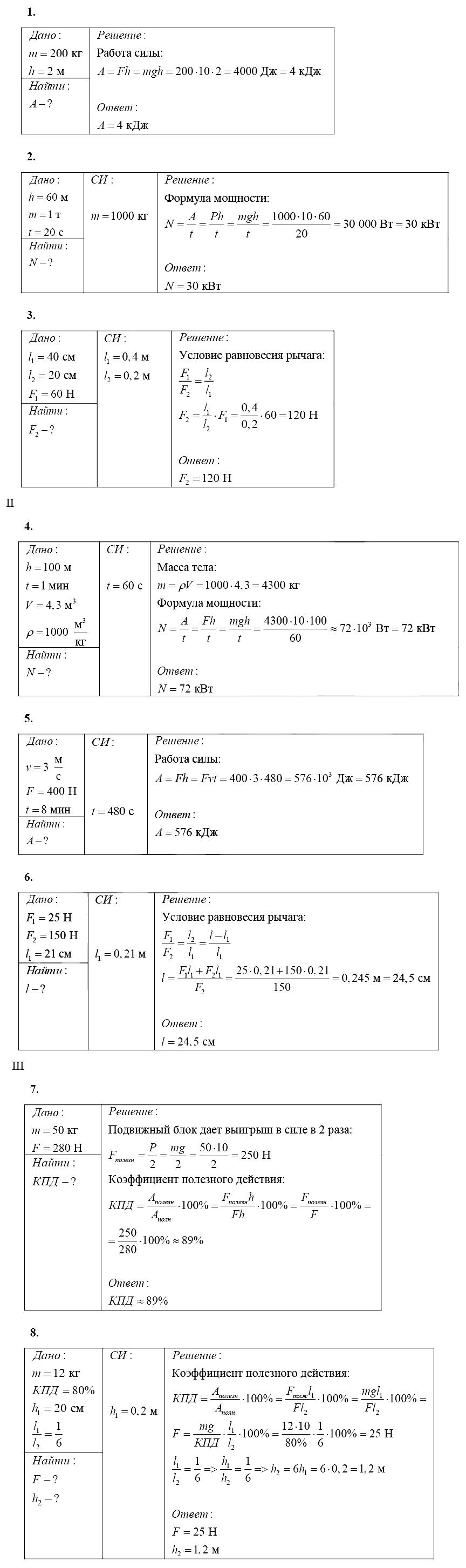 Физика 7 Марон КР-4 В4